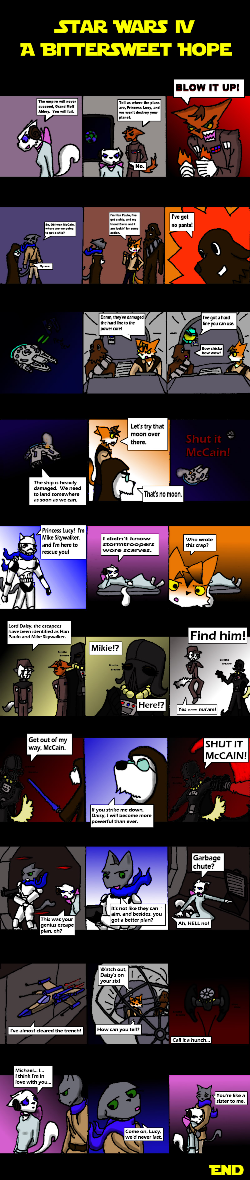 Candybooru image #3729, tagged with Abbey Augustus Comedy_(Artist) Daisy David Lucy McCain Mike Paulo guest_comic parody