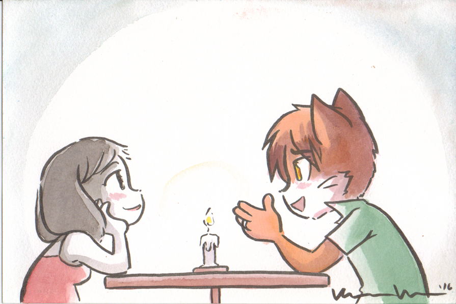 Candybooru image #11391, tagged with Paulo PauloxRachel Rachel Taeshi_(Artist) commission watercolor