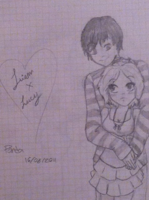Candybooru image #4422, tagged with Liam LiamxLucy Lucy Panda_(Artist) fancharacter human