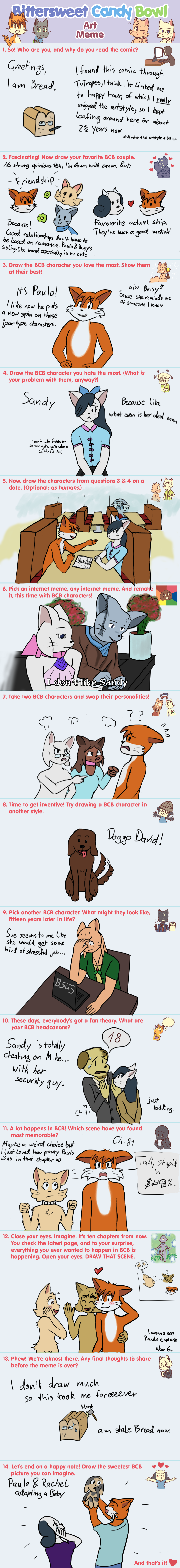 Candybooru image #13884, tagged with BCB_Art_Meme Bread_(Artist) Daisy David James Lucy Madison Mike Paulo PauloxJames PauloxRachel Rachel Sandy
