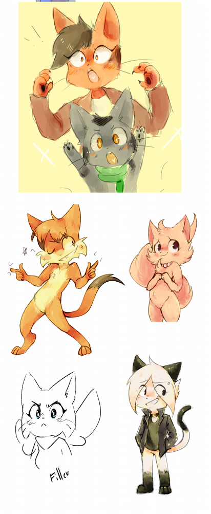 Candybooru image #11979, tagged with Amaya Augustus Daisy Lucy Mike MikexAmaya Paulo Pkbunny_(Artist) kittens