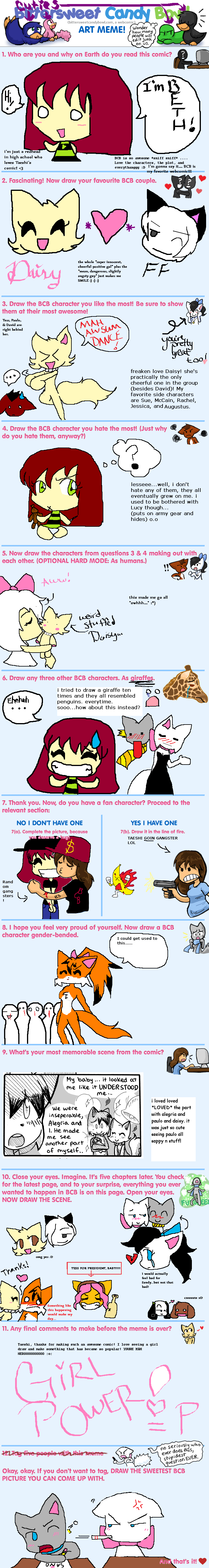 Candybooru image #4906, tagged with Abbey Augustus AugustusxDaisy BCB_Art_Meme Daisy David Lucy Mike MikexLucy Paulo Rachel Tess iSpyy_(Artist) meme