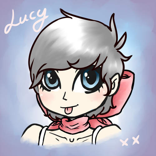 Candybooru image #10280, tagged with LetsBananas_(Artist) Lucy human