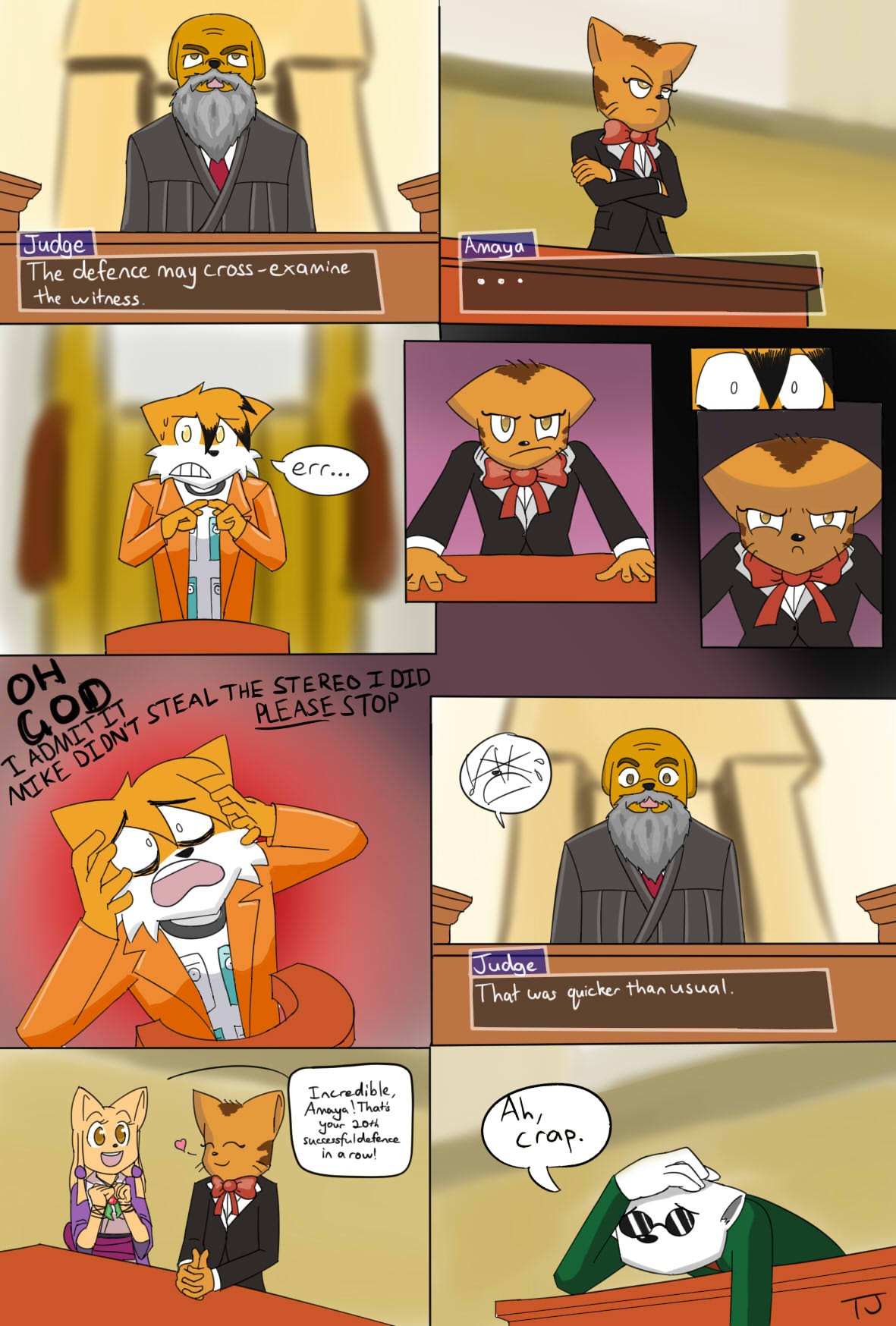 Candybooru image #8213, tagged with Amaya David McCain Paulo Sue TJ_(Artist) comic