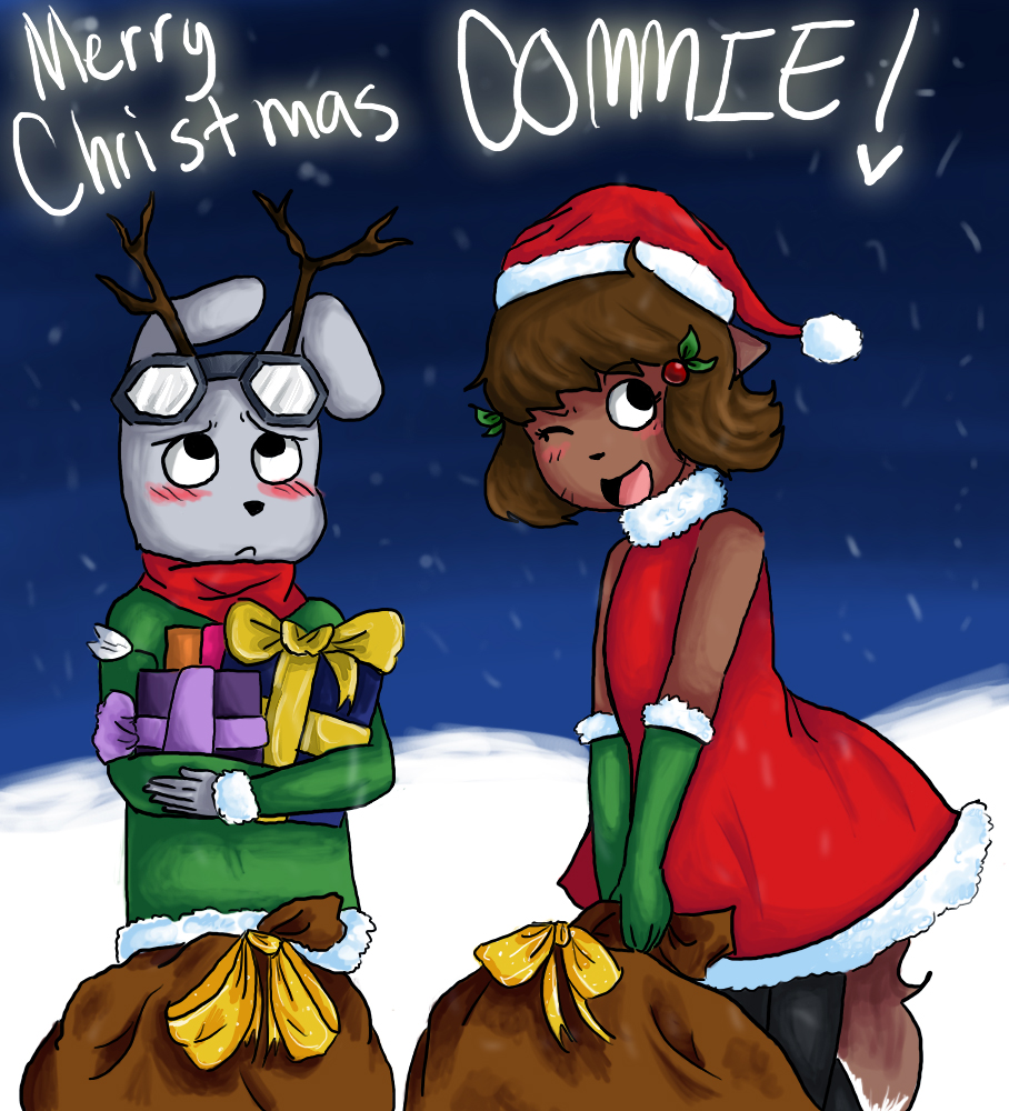 Candybooru image #2489, tagged with Carmen_(Artist) Christmas Justin JustinxMolly Molly