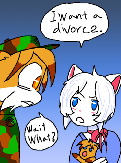 Candybooru image #5696, tagged with Hair_Lucy Lucy Paulo PauloxLucy kittens parody randomdice_(Artist)