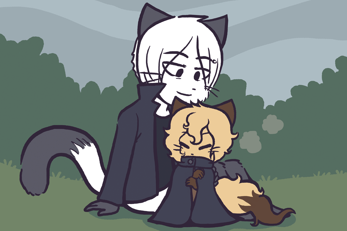 Candybooru image #10230, tagged with Augustus AugustusxDaisy Draw_Stream Taeshi_(Artist) kittens