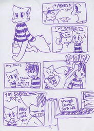 Abbey Daisy Liam Taeshi_(Artist) comic fancharacter (820x1145, 313.6KB)