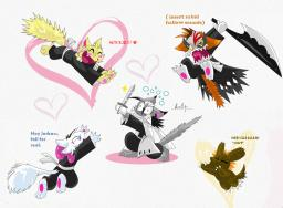 Daisy Knux_the_Killer_(Artist) Lucy Mike Paulo costume weapon (971x715, 1.3MB)