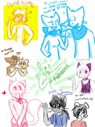 AbbeyxDaisy Augustus Hair_Lucy Lucy Mike Paulo Sue Wildphyre-Pyro_(Artist) Zach sketch (600x800, 366.1KB)