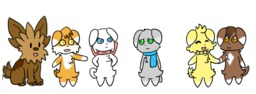 Abbey Daisy David Lisa_(Artist) Lucy Mike crossover (950x349, 171.0KB)