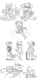 Abbey Augustus Daisy JEMCIV_(Artist) Jasmine Lucy Mike MikexLucy Molly Paulo Sue sketch (600x1247, 220.1KB)