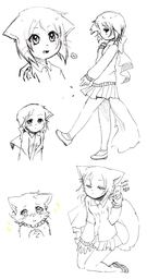 Daisy Hair_Lucy Lucy Maia_(Artist) sketch (658x1250, 398.6KB)