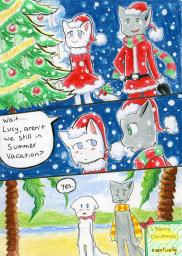 Christmas Lucy Mike Taeshi_(Artist) snow (600x842, 518.1KB)