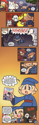 Augustus Daisy Lucy Mike Sandy Sue Taeshi_(Artist) comic (800x2526, 1.2MB)