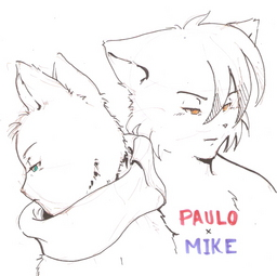 Doublet_(Artist) Mike MikexPaulo Paulo parody (589x587, 109.2KB)