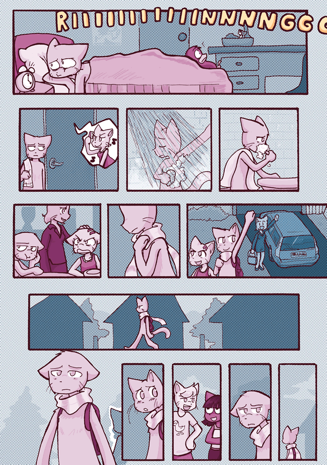 A Distance Apart, page 1.