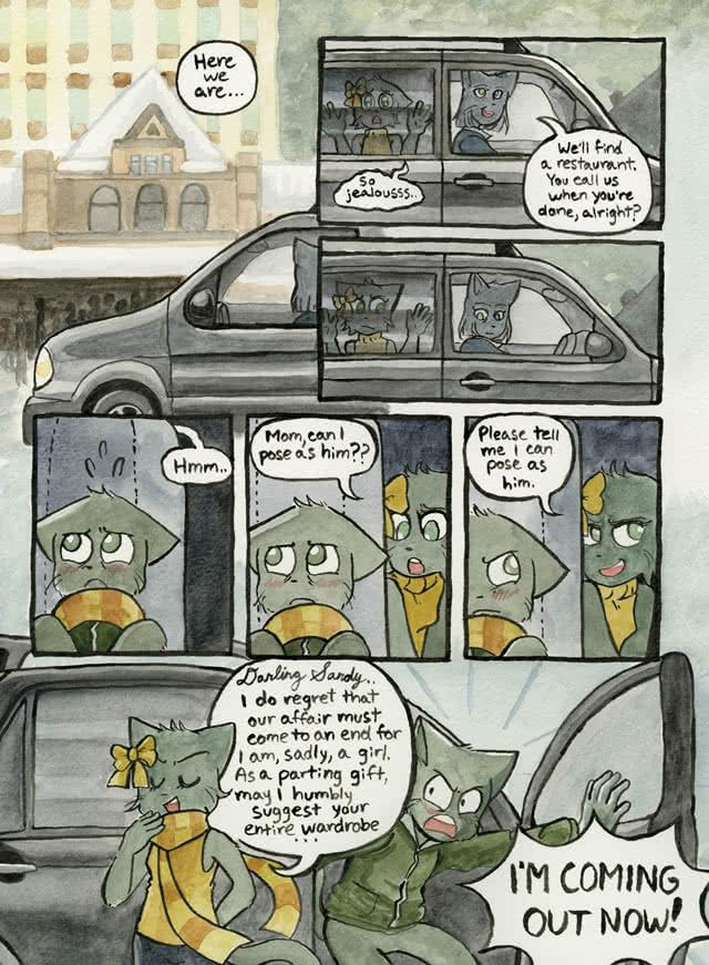 Just Beautiful, page 2.