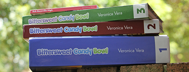 The Bittersweet Candy Bowl books