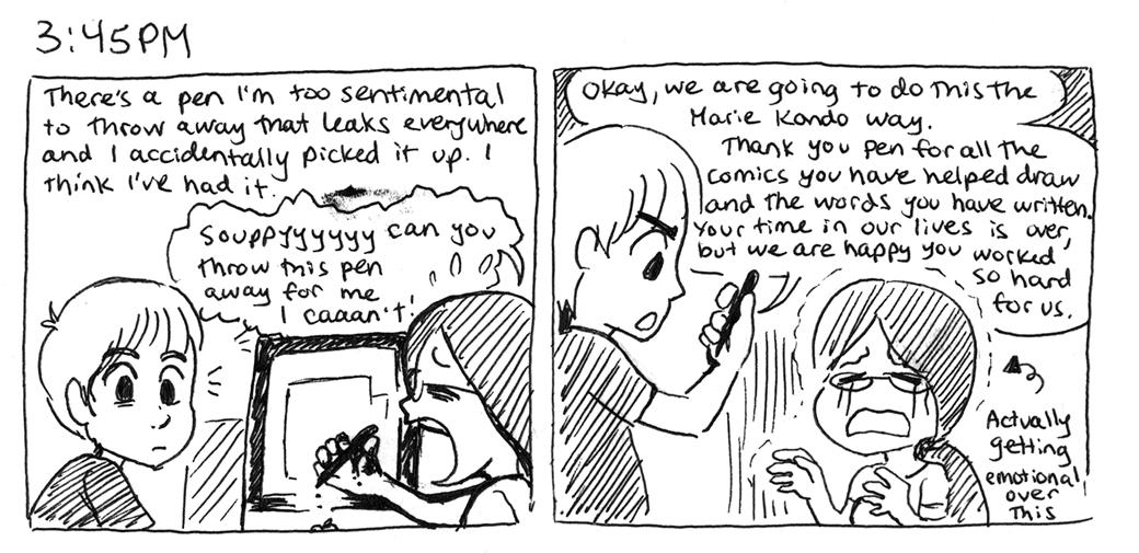 Pen problems